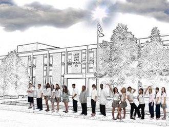 Notre Dame High School (Ottawa) - Image: NDH school cloud 7
