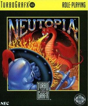 Neutopia - Image: Neutopia boxart