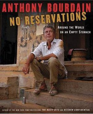 No Reservations: Around the World on an Empty Stomach - Image: No Reservations book