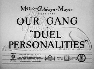 <i>Duel Personalities</i> 1939 film by George Sidney