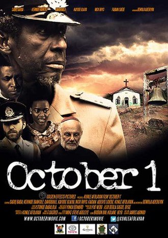 October 1 (film) - Theatrical release poster