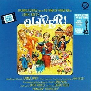 Oliver! (soundtrack) - Image: Oliver! soundtrack album cover