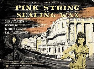 Pink String and Sealing Wax - Image: Pink String and Sealing Wax Film Poster
