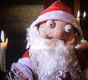Podge and Rodge - Podge once attempted to ruin Christmas for The Den crew by kidnapping Santa and putting on his suit.