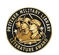 Pritzker Military Library Literature Award medallion.jpg