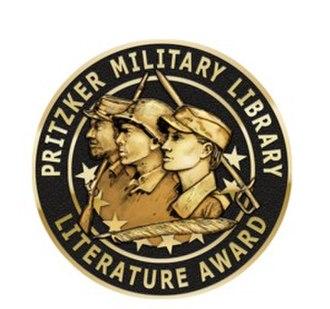 Pritzker Literature Award - Image: Pritzker Military Library Literature Award medallion