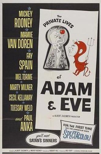 The Private Lives of Adam and Eve (film) - Image: Privatelivesadameve
