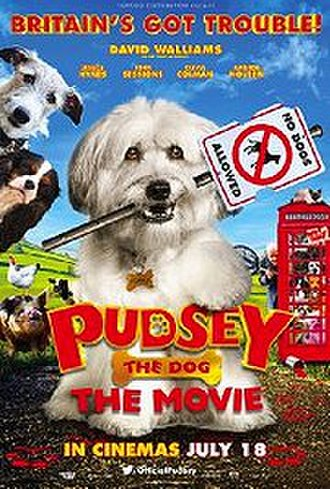 Pudsey the Dog: The Movie - United Kingdom theatrical release poster