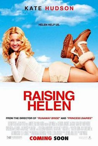 Raising Helen - Theatrical release poster