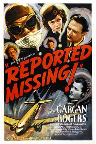 Reported Missing - Theatrical release poster