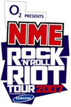 NME Tours - Logo of the 2007 Rock 'n' Roll Riot Tour.