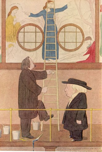 Benjamin Jowett - Benjamin Jowett, by Max Beerbohm, 1922.