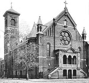 St. Leo's Church - Image: Saint Leo RC Church Baltimore Maryland