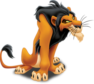 Scar (<i>The Lion King</i>) primary antagonist and fictional character from The Lion King