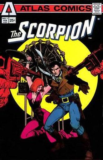 Atlas/Seaboard Comics - Image: Scorpion Chaykin 1