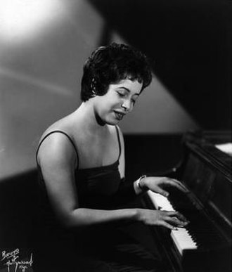 Shirley Horn - Publicity photo from 1961 by Bruno Bernard