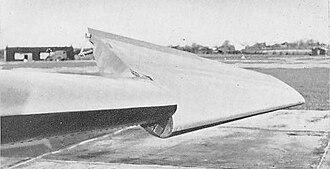 Short SB.4 Sherpa - Rotated wingtip