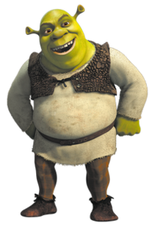 Fictional ogre character in the Shrek franchise