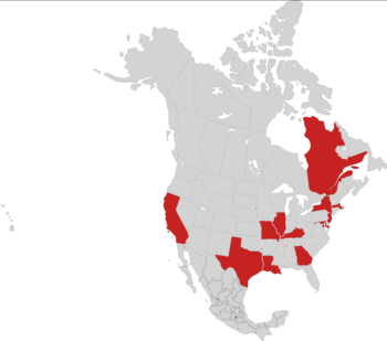 locations of Six Flags amusement parks