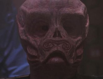 Space: Above and Beyond - A Chig's face is shown in the series finale