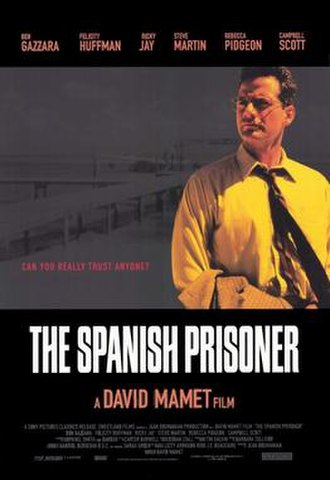 The Spanish Prisoner - Theatrical release poster