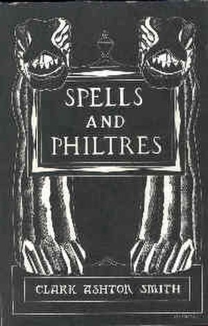 Spells and Philtres - Jacket illustration by Frank Utpatel for Spells and Philtres