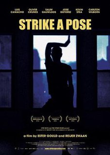 <i>Strike a Pose</i> 2016 film by Ester Gould, Reijer Zwaan
