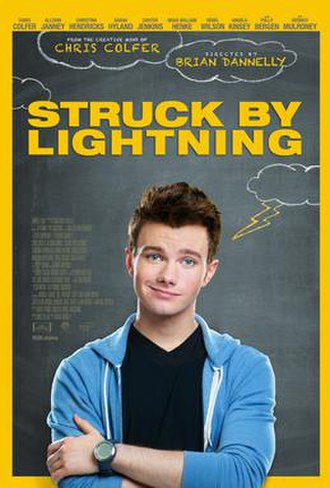 Struck by Lightning (2012 film) - Theatrical release poster