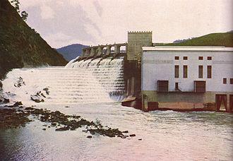 Rubicon Hydroelectric Scheme - The former Sugarloaf Power Station on Lake Eildon
