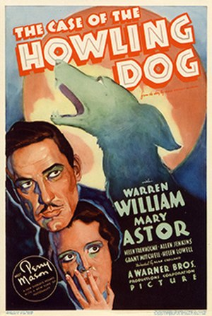 The Case of the Howling Dog - Theatrical release poster