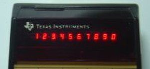 TI-59 / TI-58 - 10-digit LED display
