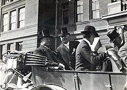 President Taft at Occidental in October 1911