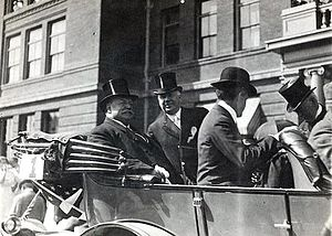 Occidental College - President William Howard Taft at Occidental in October 1911