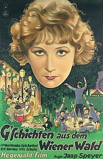 <i>Tales from the Vienna Woods</i> (1928 film) 1928 film