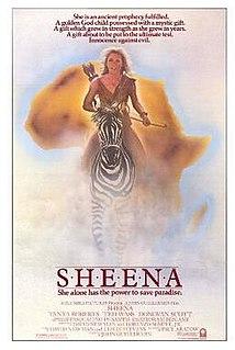 <i>Sheena</i> (film) 1984 film by John Guillermin