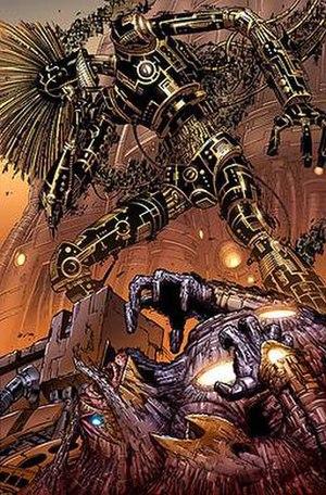 Warlock (New Mutants) - Image: Technarchy