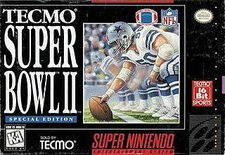 <i>Tecmo Super Bowl II: Special Edition</i> 1994 video game