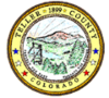 Official seal of Teller County