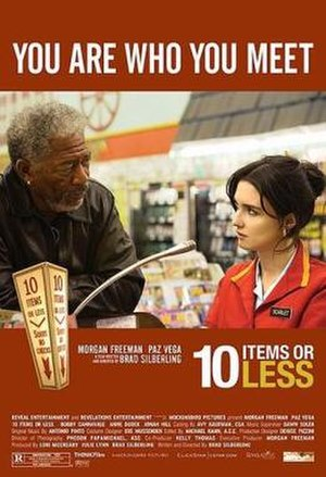10 Items or Less (film) - Promotional movie poster for the film