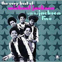 The Very Best Of Michael Jackson With The Jackson Five compilation cover
