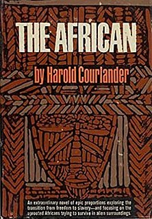 <i>The African</i> (Courlander novel)