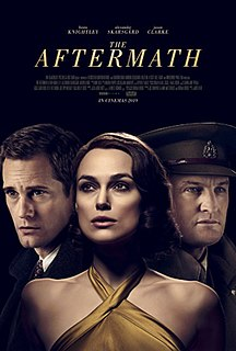 <i>The Aftermath</i> (2019 film) 2019 film directed by James Kent