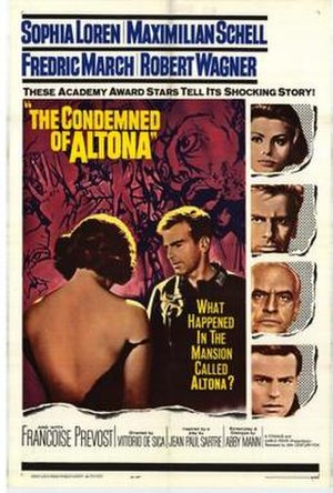 The Condemned of Altona (film) - Image: The Condemned of Altona Film Poster