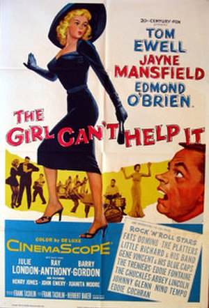 The Girl Can't Help It - original poster