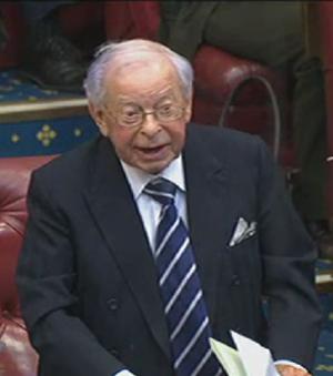 Joel Barnett - Barnett's last appearance at House of Lords questions.