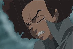 Huey Freeman - Huey seen praying in the season one finale.