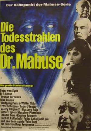 The Secret of Dr. Mabuse - Image: The Secret of Dr. Mabuse