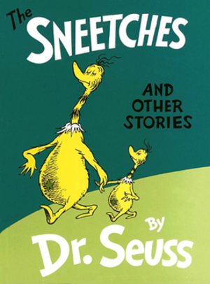 The Sneetches and Other Stories - Front cover with Seuss illustration