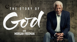 The Story of God with Morgan Freeman - Image: The Story of God with Morgan Freeman logo