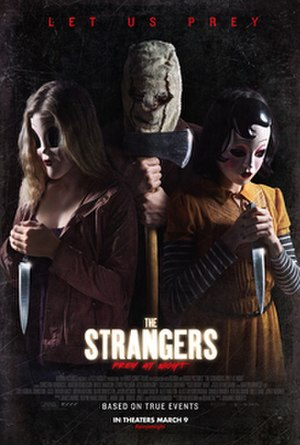 The Strangers: Prey at Night - Teaser poster